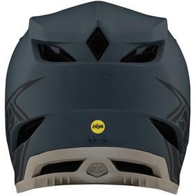 Troy Lee Designs D4 Composite Helm stealth grey